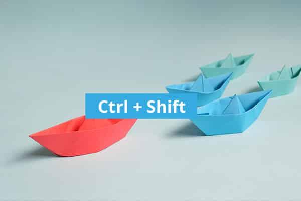 Ctrl Shift