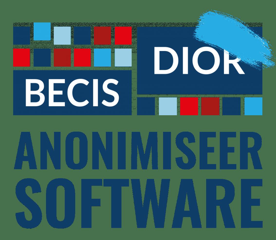 Logo anonimiseersoftware BECIS | DIOR